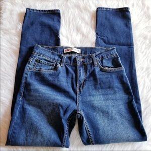 Levi's 511 Jeans Performance Slim Fit Blue Denim